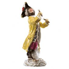 Meissen Monkey Band - Figurine of a Kettle Drummer